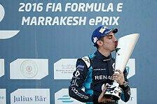 Formel E - Buemi gewinnt in Marrakesch trotz Strafversetzung