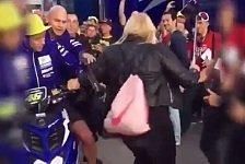 Vermeintlicher Tritt gegen Fan im Valencia-Paddock: Klage gegen Rossi abgewiesen