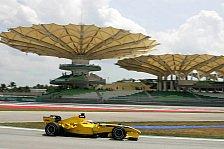 Formel 1 - Jordan-Rookies gingen auf Tuchfühlung mit der Strecke