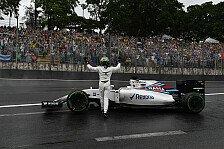 Felipe Massa erlebte beim Brasilien GP einen emotionalen Abschied