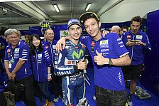 Valentino Rossi und Jorge Lorenzo: Ziemlich beste Freunde