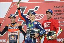 Valencia GP: Das sagten Rossi, Marquez, Lorenzo und Co. zum Saisonfinale
