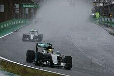 Lewis Hamilton siegt beim Brasilien GP, doch Nico Rosberg steht vor dem WM-Titel