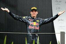 Top-5: Die stärksten Rennen von Red Bull-Star Max Verstappen