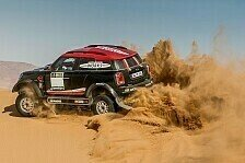 Dakar - Bilder: Mini greift wieder an - das neue Auto für die Dakar