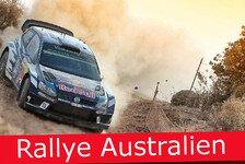 Ticker: News-Splitter von der Rallye Australien 2016