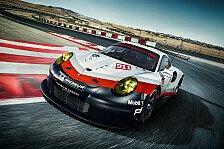 Porsche präsentierte den neuen 911 RSR für die GT-Klassen in WEC und IMSA