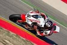 Stefan Bradl: So lief sein erster WSBK-Test mit dem Honda-Superbike in Aragon