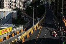Übersicht über die Trainingsergebnisse beim FIA GT World Cup Macau 2016