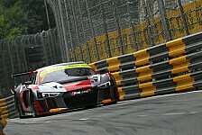 Quali-Rennen Macau: Vanthoor siegt, Mortara crasht