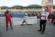 Audi sagt der WEC nach Bahrain Servus: Stimmen, Gesten, Emotionen