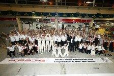Im Schatten des Audi-Abschieds: Porsche feiert den WM-Titel
