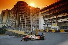 Max Günther in Macau: Pech bei China-Debüt