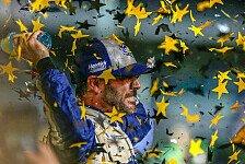 Johnson ist zum siebten Mal Champion und wird damit zur NASCAR-Legende