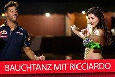Formel 1 - Video: Arabischer Hüfttanz mit Daniel Ricciardo