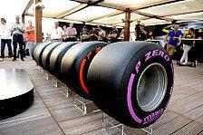 Pirelli präsentiert breitere 2017er-Reifen