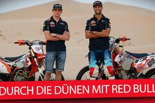 Formel 1 - Video: Dünen-Fun mit Red Bull