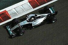 1. Training in Abu Dhabi: Lewis Hamilton schlägt Nico Rosberg
