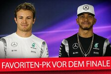 Formel 1 - Video: Pressekonferenz vor dem WM-Finale in Abu Dhabi