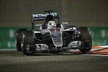 Mercedes-Duell: Hamilton legt beim Finale in Abu Dhabi gegen Rosberg vor