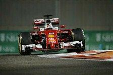 Formel 1 - Ferrari: Letzte Hoffnung auf roten Sieg