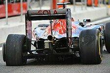 Toro Rosso musste in Abu Dhabi zwei Reifenschäden bei Daniil Kvyat hinnehmen