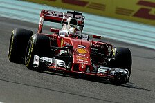 3. Training in Abu Dhabi: Sebastian Vettel schlägt beide Mercedes