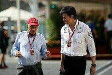 Niki Lauda: Fahrerentscheidung bei Mercedes erst Ende Januar