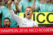 Formel 1 - Video: Nico Rosberg ist F1-Weltmeister 2016