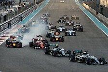 Formel-1-Kalender 2017 angepasst: Sieben Rennen mit neuem Termin