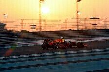 Spektakuläre Aufholjagd von Verstappen in Abu Dhabi