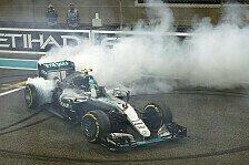 Formel 1 - Bilder: Abu Dhabi GP - Rosbergs Titel-Donuts