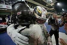 Hamilton gratuliert Rosberg: Verdienter Champion