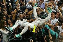 Wie hat Nico Rosbergs Umfeld von seinem Rücktritt erfahren?
