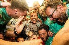 Ist Nico Rosberg ein verdienter Weltmeister? Das sagen die Experten