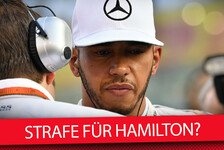 Formel 1 - Video: Reporter-Legende Roger Benoit: Strafe für Hamilton?
