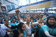 Formel 1 - Bilder: Nico Rosbergs Weltmeister-Feier in Kuala Lumpur