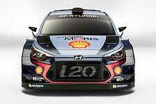 Hyundai stellt in Monza Boliden für WRC-Saison 2017 vor