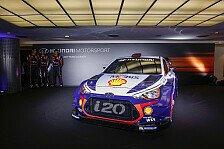 WRC - Video: Hyundai präsentiert seinen 2017er Boliden