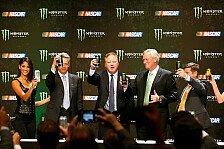 Energy-Drink-Marke Monster Energy ist neuer NASCAR-Titelsponsor