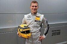 Mercedes' DTM-Neuling Max Günther: Wäre bereit für Rennen