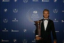 Formel-1-Weltmeister Nico Rosberg gewinnt den Laureus-Award 2016