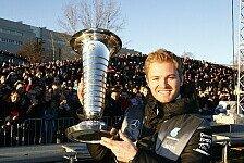 Formel 1 - Bilderserie: Nico Rosberg: Der Weltmeister in Zahlen