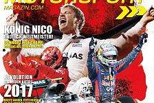 Neue Ausgabe des Motorsport-Magazins: König Rosbergs Rücktritt