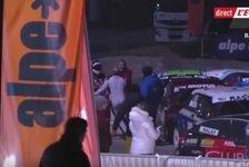 Prügelei zwischen Olivier Panis und Adrien Tambay bei Trophee Andros