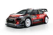 Citroen stellt C3 WRC für die Comeback-Saison vor