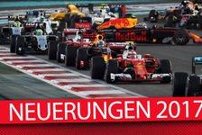 Fahrer, Regeln, Kalender: Das ist in der F1 neu 2017