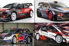 Das sind die neuen WRC-Boliden für die Saison 2017