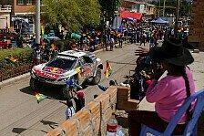 Dakar - Video: Ellen Lohr: Halbzeitbilanz der Autos