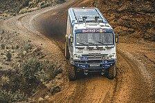 Dakar - Video: Ellen Lohr: So steht es bei den Trucks
